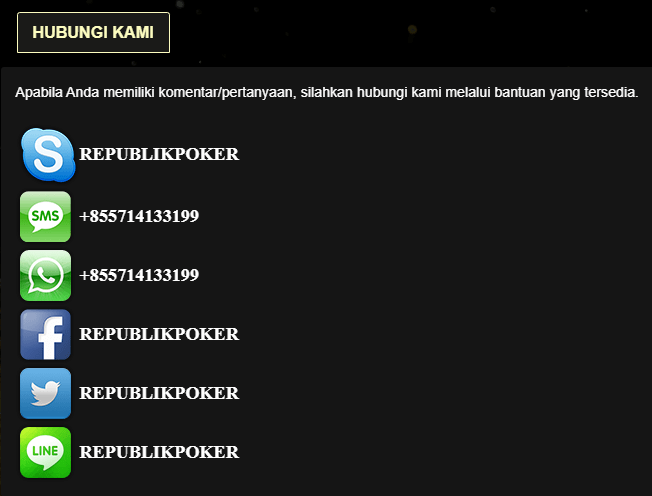 Republik Poker Online Terpercaya
